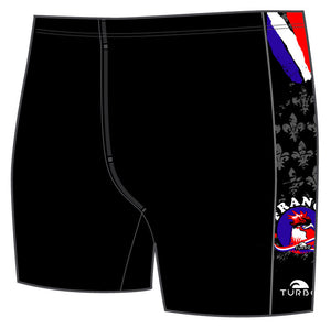 Boys Jammer Band-Print - France Rooster (Black)
