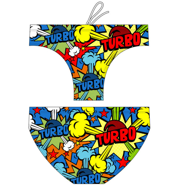 Men Swimming Trunks - Pop Turbo (Print)