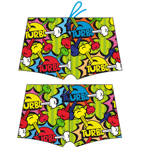 Boys Boxer Full-Print - Happy Pop Turbo (Print)