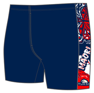 Boys Jammer Band-Print - Maori Flag (Navy)