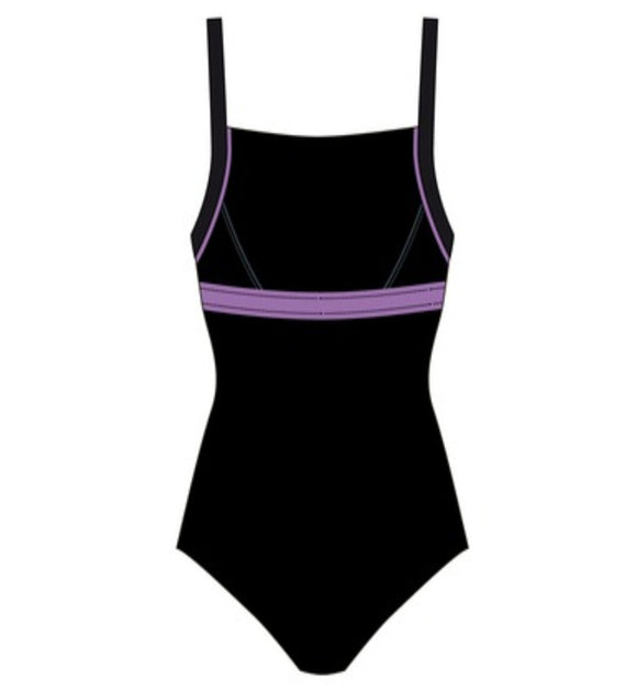 Women Swim Suit - Senior - Competition (Black)