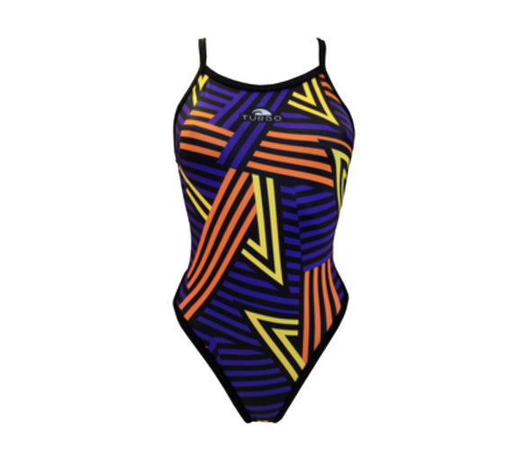 Women Swim Suit - Revolution Thin Straps - Pico (Violet)