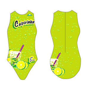 WP Girls Suit - Caipirinha (Lime & Yellow)