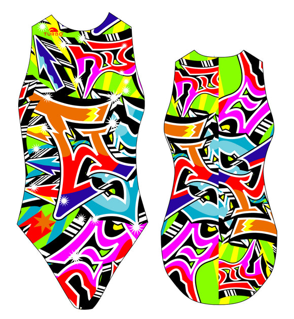WP Women Suit - Graffiti (Print)