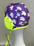 WP Cap - Junior Fun Cap - Happy Unicorn (Violet)