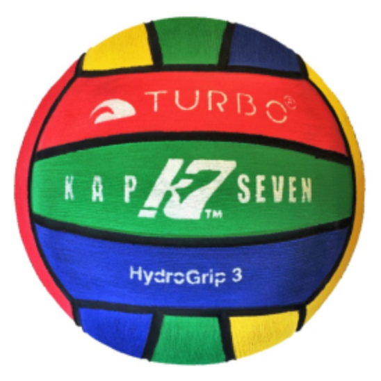 WP Ball - Turbo/Kap7 Size No.3 Junior / School - Multi-Colour