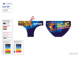 Past Custom Designed - ACJC 2018 Boys/Men WP Trunks with Name (Pre-Order)