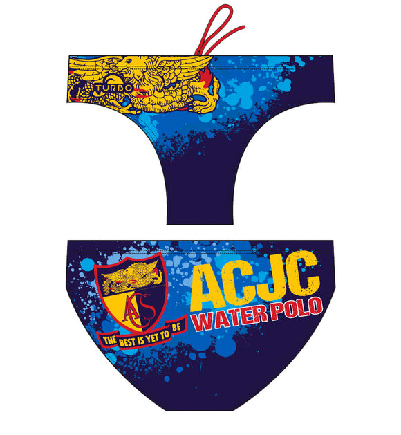 Past Custom Designed - ACJC 2018 Boys/Men Swimming Trunks without Name (Pre-Order)
