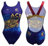 Past Custom Designed - ACS(I) 2018 Girls/Women Swim Suit Thick Straps without Name (Pre-Order)