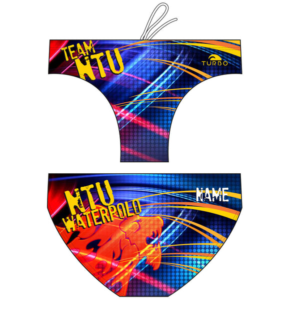Past Custom Designed - NTU 2016 Boys/Men WP Trunks with Name (Pre-Order)