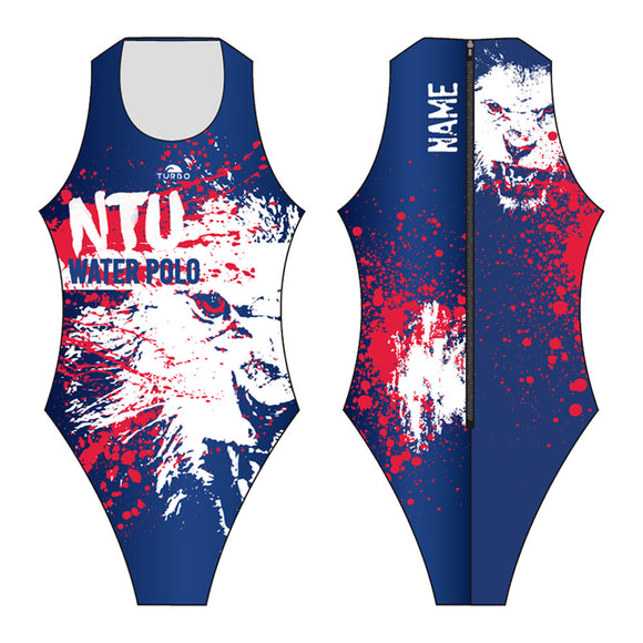 Past Custom Designed - NTU 2017 Girls/Women WP Suit with Name (Pre-Order)