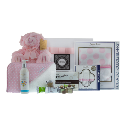 Baby Girl Bubba Blue Hamper