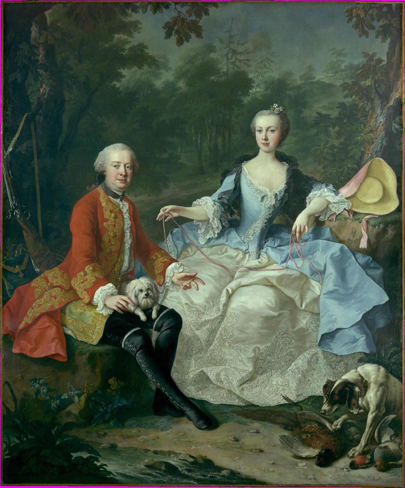 Painting by Martin van Meytens the Younger