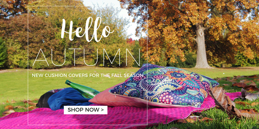 Cemavi Autumn Themed Cushion Covers