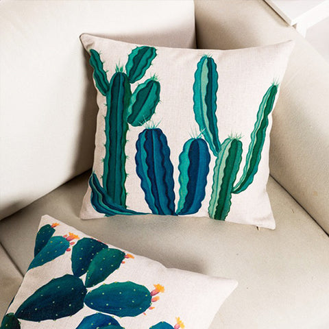 Cactus Cushion Covers Are Ideal to Hug!