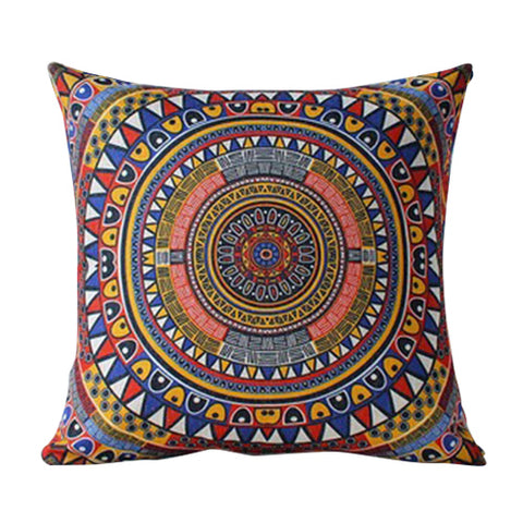 Boho Flair Cushion Cover