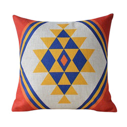 Boho Diamond Cushion Cover
