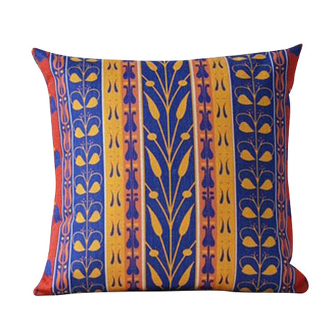 Boho Petals Cushion Cover