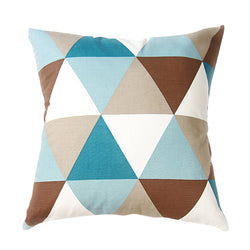 Triangles Spring Cushion Cover