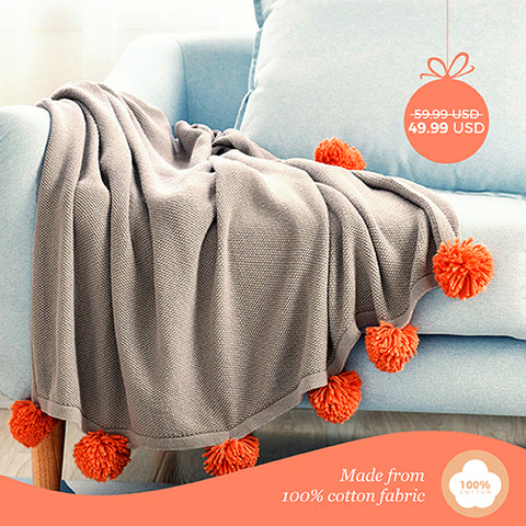 Manta Gray Blanket - Black Friday Deal II