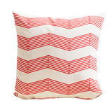 Alon Red Wave Cushion Cover CEMAVI