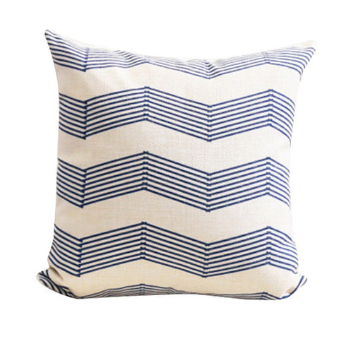 Alon Blue Wave Cushion Cover CEMAVI