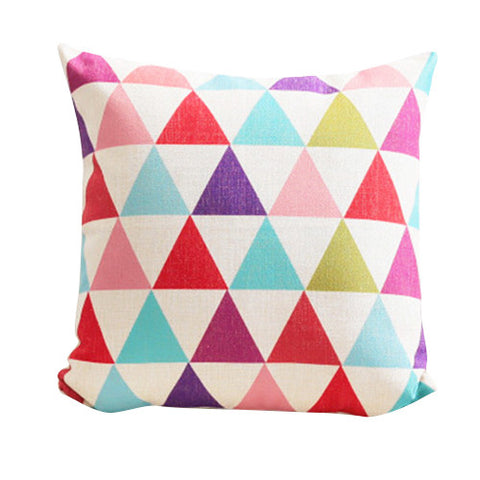 Colorful Diamonds Cushion Cover CEMAVI