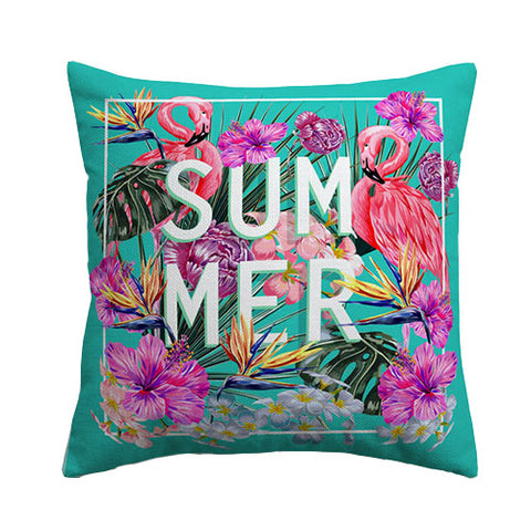 Tropical Summer Cushion Cover