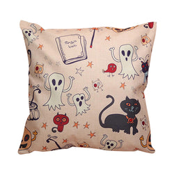 Halloween Ghosts Cushion Cover