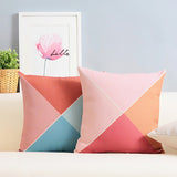 Nautilus Peach Cushion Cover