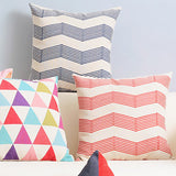 Alon Red Wave Cushion Cover
