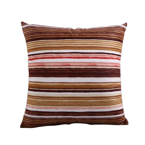 Linya Brown Cushion Cover
