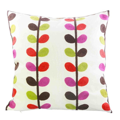 Colorful Petals Spring Cushion Cover