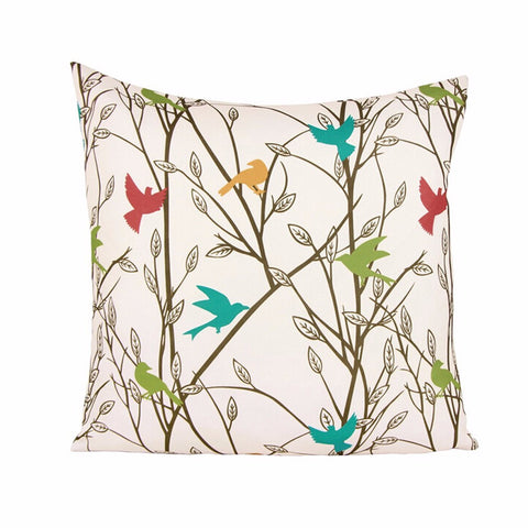 Summer Birds Cushion Cover