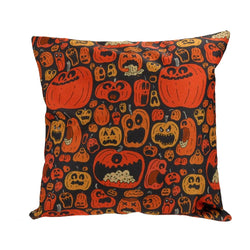 Halloween Pumpkins Cushion Cover