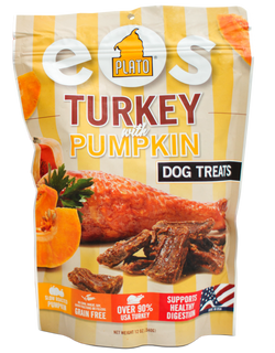 Plato Pet EOS Turkey Pumpkin Treats