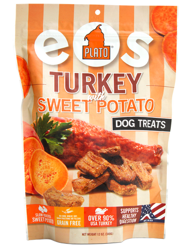 Plato Pet EOS Turkey Sweet Potato Treats