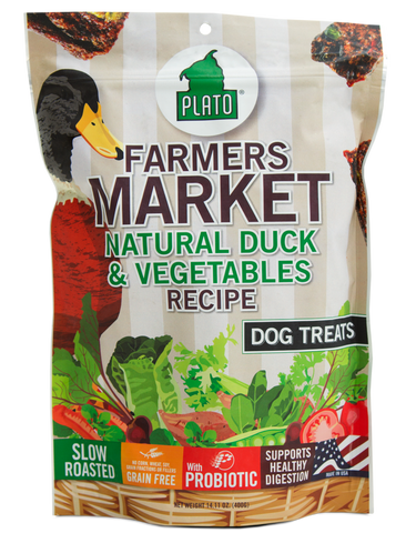 Plato Pet Duck & Vegetable Treats