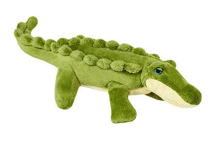 Fluff & Tuff Savannah Baby Gator Plush Toy