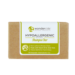 Wondercide Hypoallergenic - Natural Shampoo Bar for Pets with Aloe