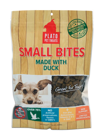 Plato Pet Small Bites Duck Treats
