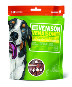 Petcurean Spike Venison Jerky Treats