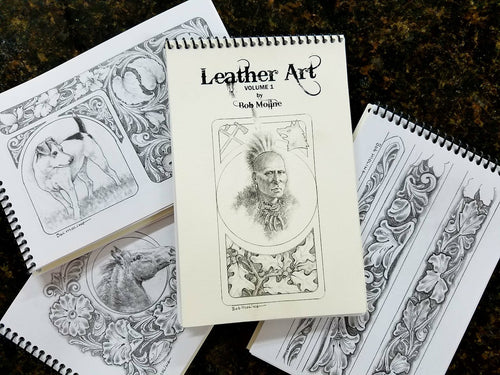 Leather Art - Volume 1 by Bob Moline