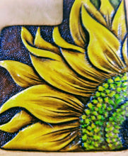 Sunflower Patterns for Leather Carving by Jim Linnell