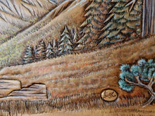 Leather Pictorial Carving Part 1 - Pine Trees and Evergreens