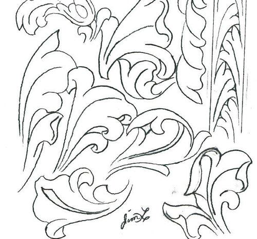 Acanthus Leaf Cheat Sheet by Jim Linnell