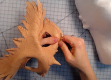 Masking Making Workshop with Annie Libertini: Pt. 1 - Cutting and Molding