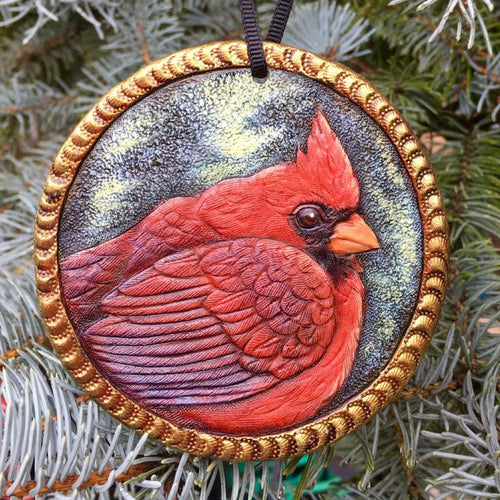 Cardinal Ornament Workshop with Annie Libertini