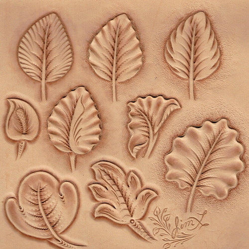 Drawing Western Floral Patterns Pt. 4 - Broad Leaves