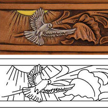 Free Leather Pattern for Figure Carving Pt 3 - Fine Detail Carving